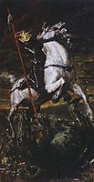 George the Victorious, 1885, serov