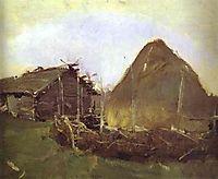 Haystack, 1901, serov