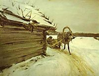 In Winter , 1898, serov