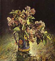 Lilacs in Vase, 1887, serov