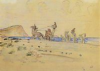 Odyssey and Nausicaa, 1910, serov