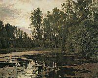 The Overgrown Pond. Domotcanovo, 1888, serov