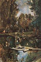 Pond in Abramtsevo, 1886, serov