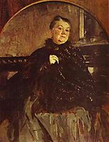 Portrait of the Actress Glikeria Fedotova, 1905, serov