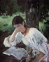 Portrait of Adelaida Simonovich, 1889, serov