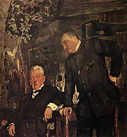 Portrait of Alexander Lensky and Alexander Yuzhin, 1908, serov