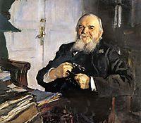 Portrait of Alexander Turchaninov, 1906, serov