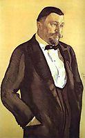 Portrait of Alexei Morozov, 1909, serov