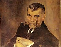 Portrait of Alexei Stakhovich, 1911, serov