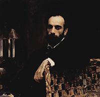 Portrait of the artist Isaak Ilyich Levitan  , 1893, serov