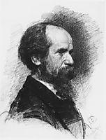 Portrait of the Artist Pavel Tchistyakov, 1881, serov