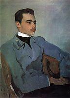 Portrait of Count Nikolay Sumarokov-Elstone, 1903, serov