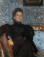 Portrait of Countess Varvara Musina-Pushkina, 1895, serov