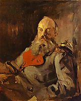 Portrait of Grand Duke Mikhail Nikolayevich, 1900, serov