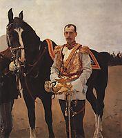 Portrait of Grand Duke Paul Alexandrovich, 1897, serov