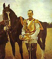 Portrait of Grand Duke Pavel Alexandrovich, 1897, serov