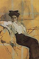 Portrait of Henrietta Girshman, 1906, serov