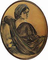 Portrait of Henrietta Girshman, 1911, serov