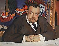 Portrait of Ivan Morozov, 1910, serov