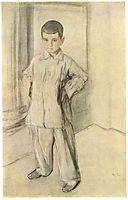 Portrait of L.K. Naryshkin, 1910, serov