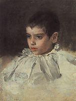 Portrait of Lialia (Adelaida) Simonovich, 1880, serov