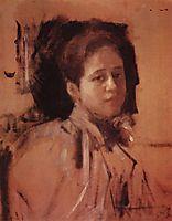 Portrait of Liudmila Mamontova, 1894, serov