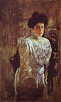 Portrait of Margarita Morozova, 1910, serov