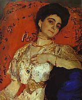 Portrait of Maria Akimova, 1908, serov