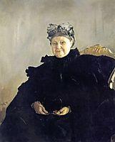 Portrait of Maria Morozova, 1897, serov