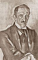Portrait of Paolo Troubetzkoy, serov