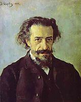 Portrait of Pavel Blaramberg  , 1888, serov