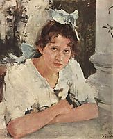 Portrait of Praskovya Mamontova, 1889, serov