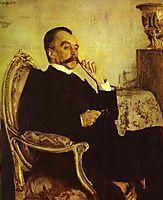 Portrait of Prince Vladimir Mikhailovich Golitsyn, 1906, serov