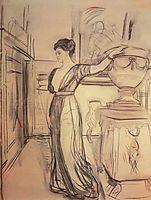 Portrait of Princess Polina Shcherbatova, 1911, serov