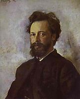 Portrait of Sergei Chokolov, 1887, serov