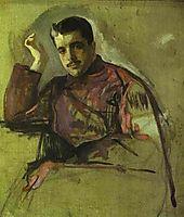 Portrait of Sergei Diaghilev, 1904, serov