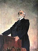 Portrait of Sergey Muromtsev, 1910, serov