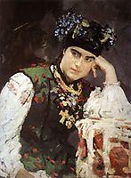 Portrait of Sophia Dragomirova-Lukomskaya, 1889, serov