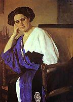 Portrait of Yelena Balina, 1911, serov