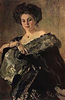Portrait of Yevdokia Morozova, 1908, serov