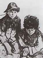 Serov-s Children. Yuri and Sasha, 1904, serov