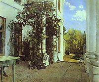 Terrace in Vvedensk, serov