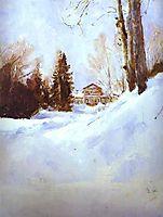 Winter in Abramtsevo, 1886, serov