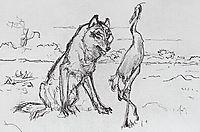 The Wolf and the Crane, serov