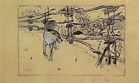 The Wolf and the Shepherds, 1898, serov