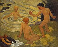 Boys on a River Bank, 1906, serusier