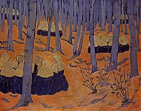 Breton Women, the Meeting in the Sacred Grove, c.1892, serusier