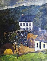 Fair Chateauneuf du Faou, 1903, serusier