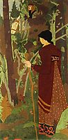 The Fairy and the Knight, 1912, serusier