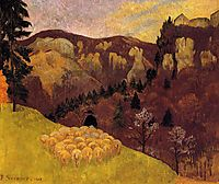 The Flock in the Black Forest, 1903, serusier